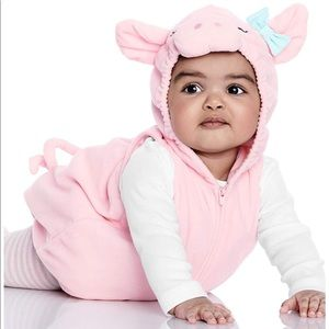 "EUC Toddler Girl ""Little Piggy"" Halloween Costume"